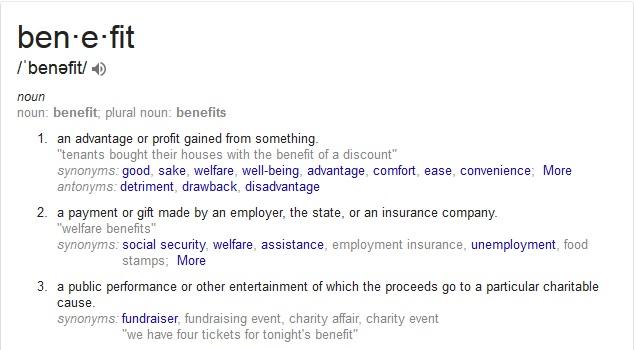 benefitdefinition