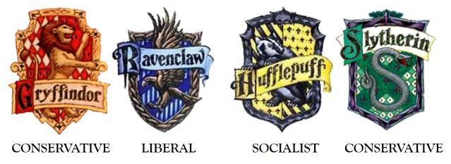 HogwartsHouses_Politics